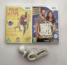 La sua forma e la fotocamera e il BIGGEST Loser sfida Wii PAL