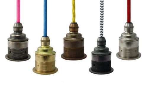Birnen Halter Es E27 Messing /& Bronze Lampe Ideal für Vintage Edison Benennen