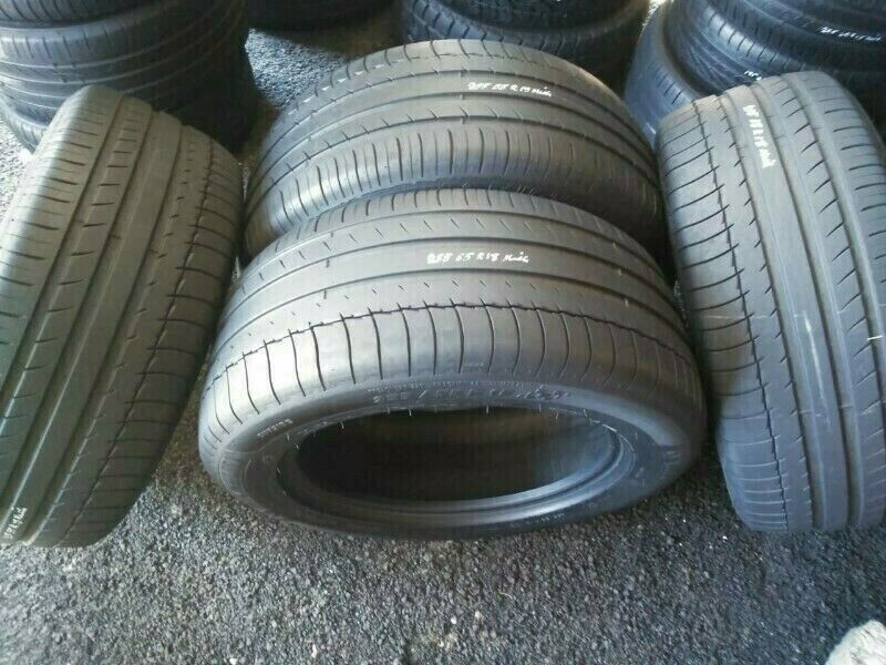 Set of 85% Tread Life 255/55/18 Michelin Tyres Available for Sale
