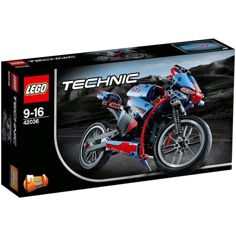Lego 42036 Technic - Straßenmotorrad Verpackung 1B