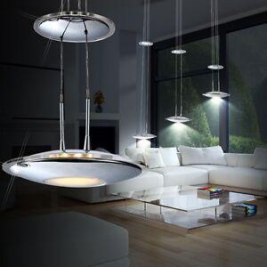Detalles de Luces De Techo Diseño 30 Vatios Lámpara LED 3 lámparas Sala  Estar Comedor NUEVO