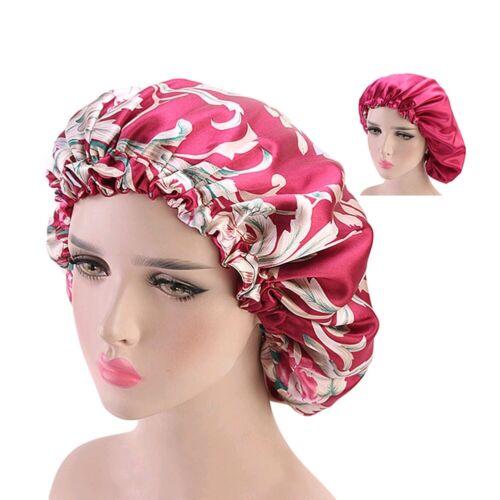 Frauen Satin Haar Turban Hut Muslim Cap Hijab Kopftuch Wrap Cover Bandana Mütze