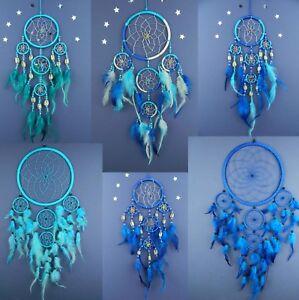 Dream Catcher Boys Blue Turquoise New Dreamcatcher Gift Birthday Bedroom Decor Ebay
