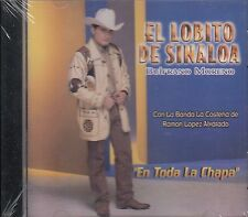 EL LOBITO DE SINALOA BULFRANO MORENO EN TODA LA CHAPA CD NUEVO SEALED