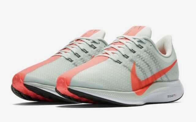 ab33840ac980 NEW Size 10.5 Nike Zoom Pegasus 35 Turbo Running Shoe Grey Hot Punch AJ4114-