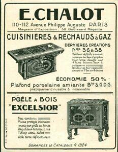Publicite-ancienne-cuisinieres-amp-rechauds-a-gaz-E-Chalot-1925-issue-de-magazine