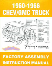 CHEVROLET GMC TRUCK ASSEMBLY MANUAL RESTORATION GUIDE RESTORE BOOK FACTORY 60-66