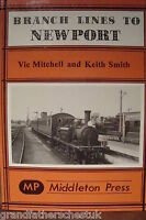 VIC MITCHELL KEITH SMITH RAILWAY BOOK TRAIN LINE BRANCH LINES NEWPORT MIDDLETON