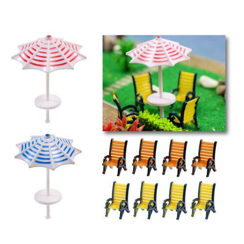 TYS23050 2 Stk Sonnenschirme Liegestühle  Sitzbänke Spur 0