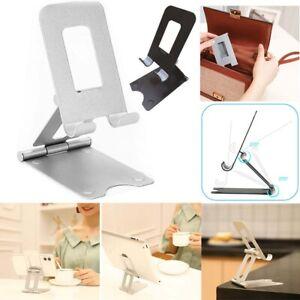 Universal Adjustable Foldable Cell Phone Stand Holder Desk Dock Mount Tablet