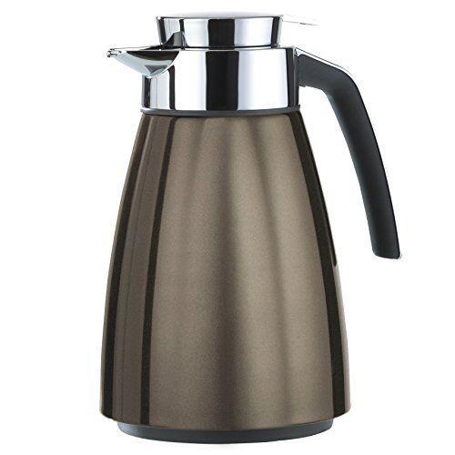 Emsa Isolierkanne BELL 1 Liter chocolate metallic Thermoskanne Kaffeekanne Kaffeekanne Kaffeekanne 5fde03