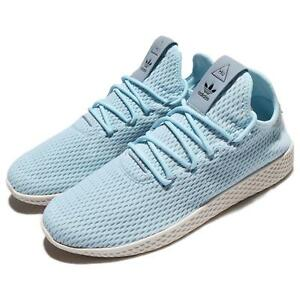 reputable site 6cdf1 82b89 Image is loading Adidas-x-PW-Tennis-Hu-Pharrell-Williams-Ice-