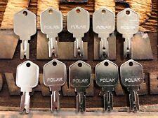 10 Keys Forklift Key Clark Yale Daewoo Gradall Jlg Hyster Cat Skytrac Polak 166