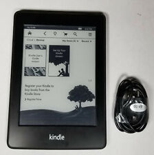 Amazon Kindle Paperwhite 1st/5th Generation, Wi-Fi, Black, eReader - Bad ESN