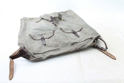 Alte Berufe Alter Wanderrucksack Rucksack Stoff Tasche Wanderer Bergsteiger Old Vintage