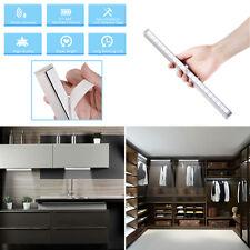 US Home Kitchen 20 LEDs Wireless Sensor Night Light Battery Powered Bedroom