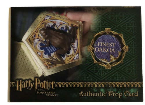 Details about  /Harry Potter SS Chocolate Frog Prop Card
