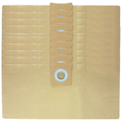 10 x AQUAVAC Vacuum Cleaner Bags Hoover Bag Pro Plus 200 302