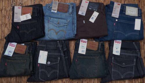 Set en Mens la liste Slim Levi's Jeans Votre choix dessous 514 de 58 Straight Leg de taille x1fXw1RnqU