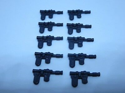 10 Black Jawa Blasters Weapon REPRO Star Wars for Vintage