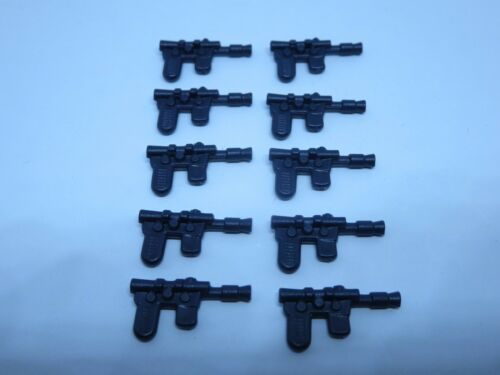 10 Black Han Solo Blasters Weapon VERY CLOSE Star Wars for Vintage MP