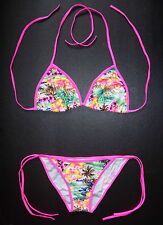 Sexy BIKINI Multi Coloured Floral Pattern Swimming Costume Beach Wear Swimsuit