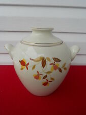 Hall Jewel Tea Handled Cookie Jar w/Lid