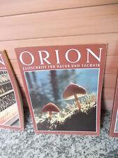 Orion, Zeitschrift für Natur und Technik, Heft 17/18 1954