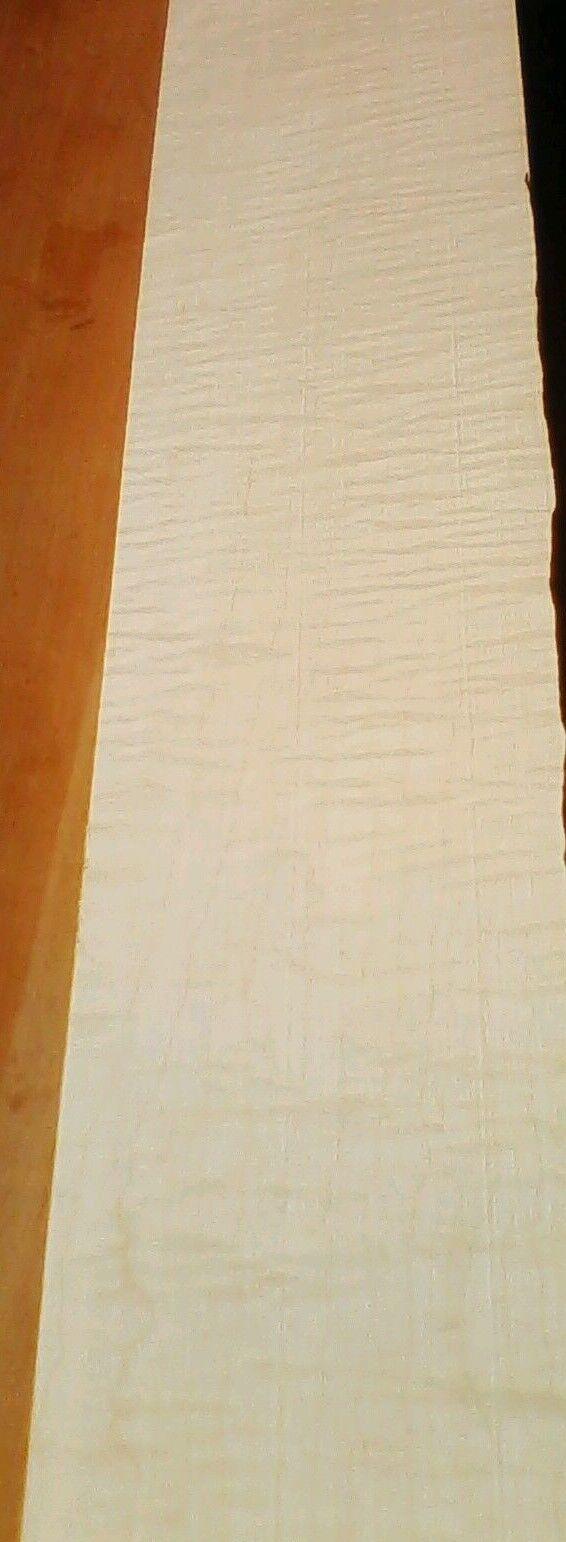 Riegelahorn Hals 5 gut geriegelt 900 x100x45mm Tonholz tonewood mapleneck
