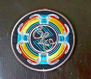 PUNK ROCK HEAVY METAL MUSIC SEW / IRON ON PATCH:- ELO ELECTRIC LIGHT ORCHESTRA