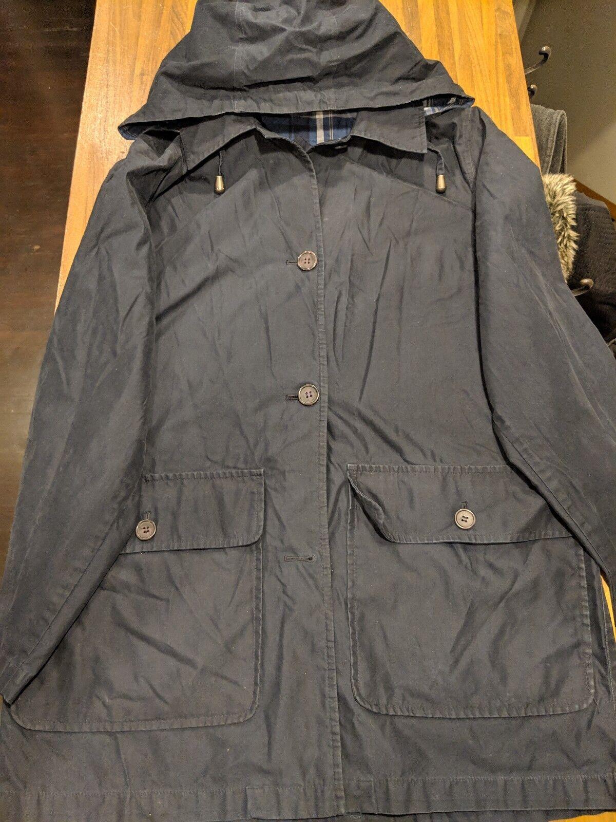 Pendelton Overcoat Trench Peacoat topcoat Men's Navy bluee L