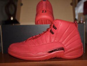 buy popular 36103 6dd72 Details about Air Jordan 12 Retro (Gym Red/Gym Red/Black)