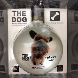 Artist-Collection-The-Dog-Yorkshire-Terrier-Yorkie-Glass-Christmas-Ornament