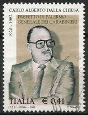 Italy 2002 SG#2781 Carlo Dalla Chiesa Used #A81550