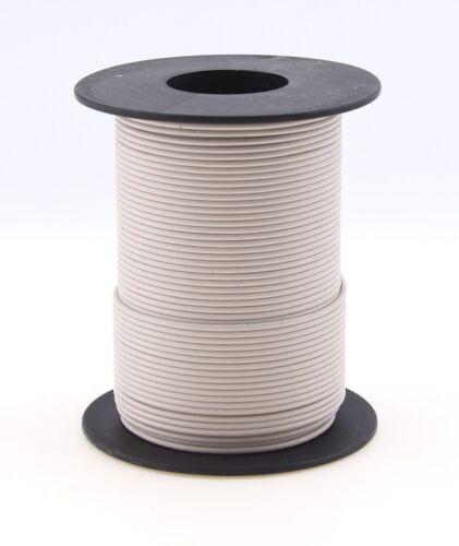 Beli Beco: 25 m//50 m maquettes câble cuivre Toron 0,25 mmâ² libre choix de la couleur