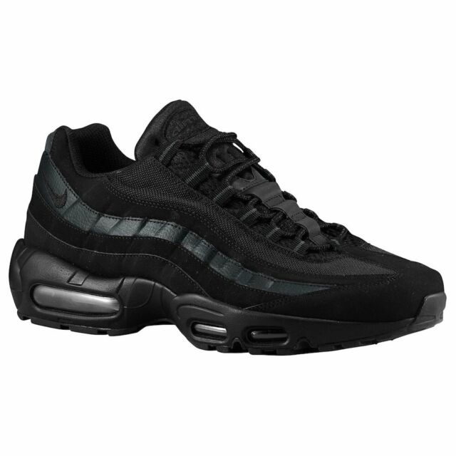 Nike Men\u0027s Air Max 95 Running Shoes Black/Black/Anthracite