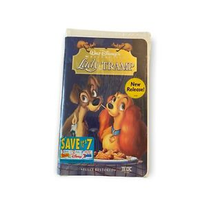 Lady and the Tramp (VHS, 1998) masterpiece new sealed with stickers Disney 1473