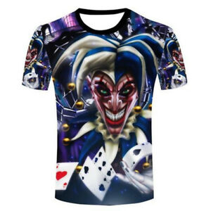 New Women Men NO GAME NO LIFE Playing Poker Print Casual 3D T-Shirt Short Sleeve