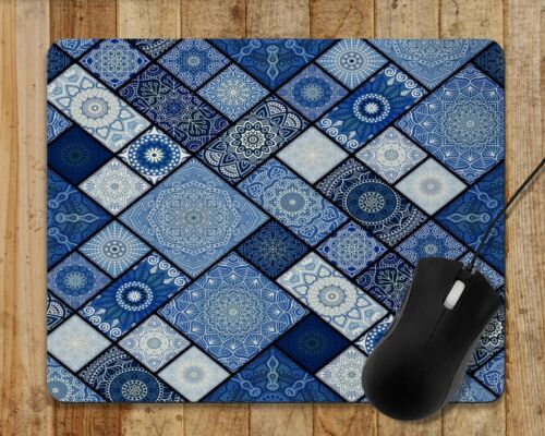 Mouse Pad Tons Of Different Colors Patchwork Moroccan Medallions Mandala Design