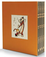 The Complete Calvin and Hobbes 4 Book By Bill Watterson New- 9781449433253