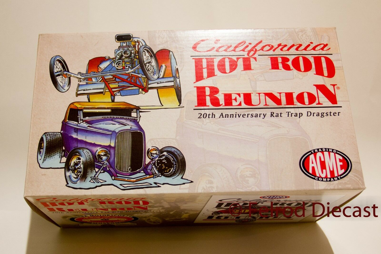 1 18 ACME Rat Piège 20th Anniversaire Hot Rod  REUNION California 1 600 se  100% livraison gratuite