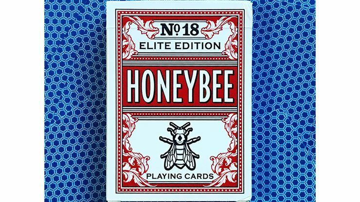 Honeybee Elite Edition Edition Edition (ROT) Playing Cards 0aa7d2