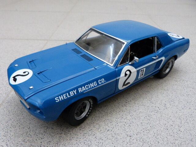 TRANS am Ford Mustang Dan Gurney 1968 TA Shelby racing ACME modelo coche 1 18