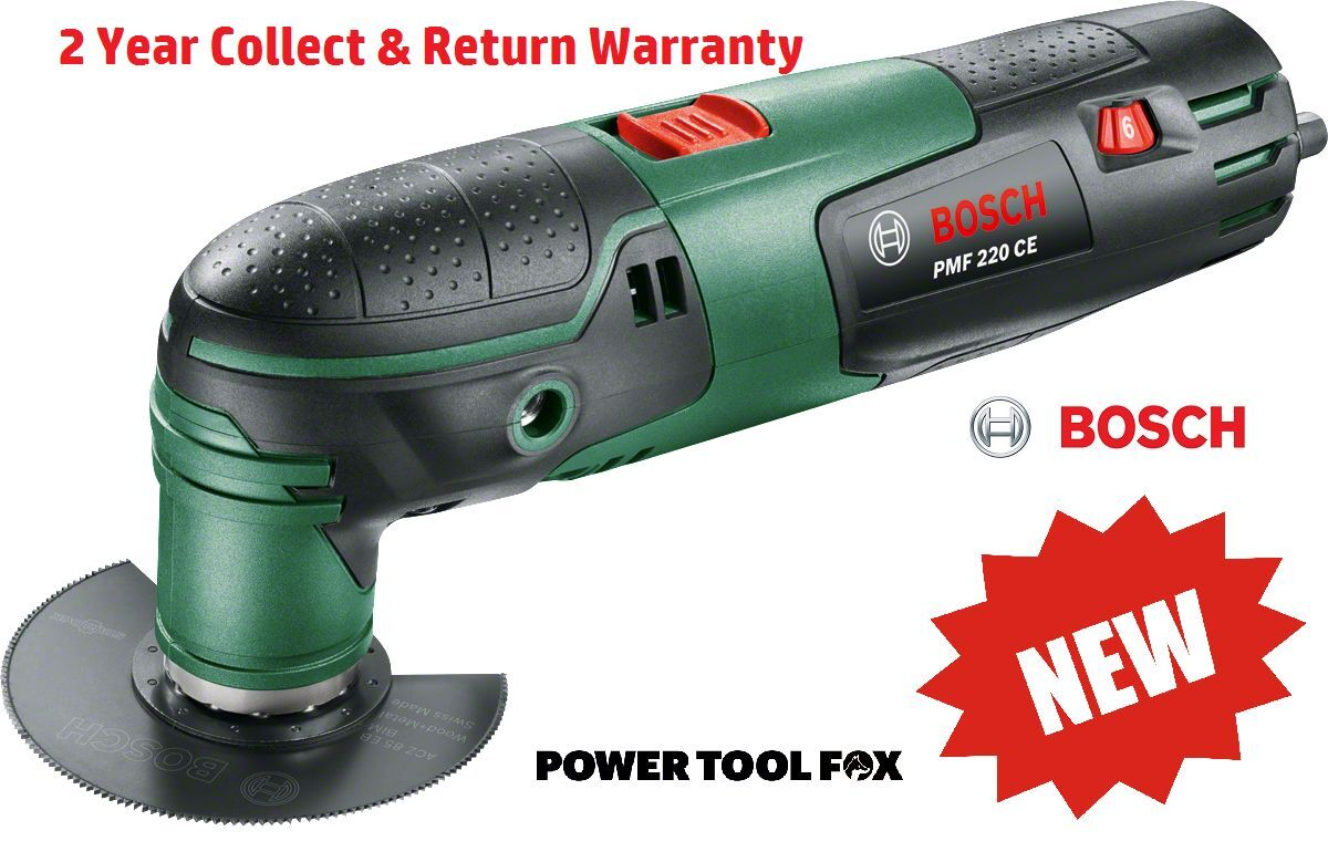 Savers Bosch PMF 220 CES MultiFunction Tool 220 watt 0603102070 3165140828505 SD