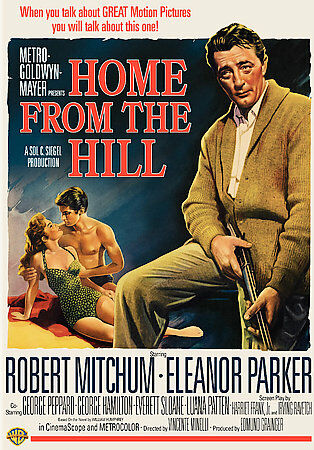 HOME FROM THE HILL DVD, 2007 ROBERT MITCHUM, ELEANOR PARKER. - $13.99