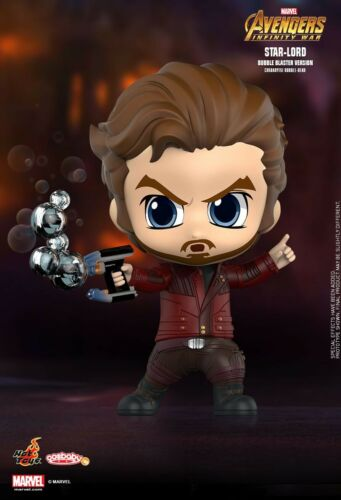 Hot Toys Cosbaby Avengers infinty guerre Star-Lord Bubble Blaster version artisanat 495