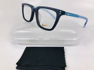 e22330cfa73 New Authentic NIKE KIDS 5KD 410 Matte Obsidian Eyeglasses 47mm with ...