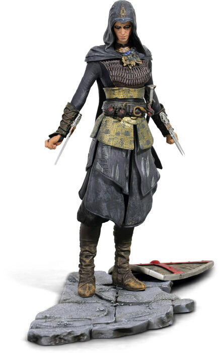 Assassin 's creed film labed maria - statue von ubisoft