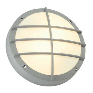 Image Is Loading Intalite Exterior IP44 BULAN GRID Wall Ceiling Light