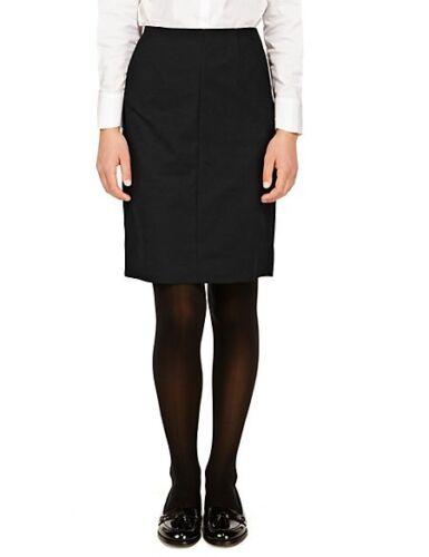 M/&S Senior Girls/' School Skirt with Crease Resistant NEW!!